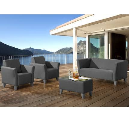 Gartensitzgruppe BOX Outdoor Lounge Sofagruppe komplett