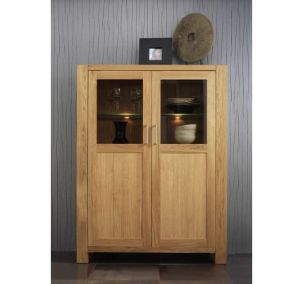 LARA Highboard Kernbuche massiv