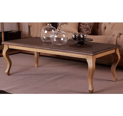 Landhausstil Couchtisch Palm Valley 140x70 cm verfügbar french oak / dark olive