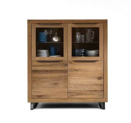Bodahl Highboard Manhattan Balkeneiche massiv