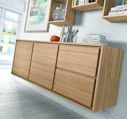 Eiche massiv Sideboard Canyon CA5