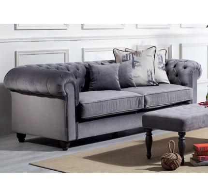 Sofa Landhausstil Springfield Chesterfield Couch konfigurieren