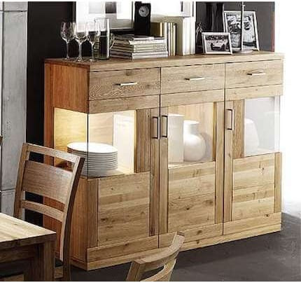 Highboard Verona massiv