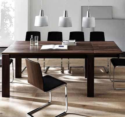 Esstisch massiv ausziehbar zoom massivholz tisch for Esstisch tamati