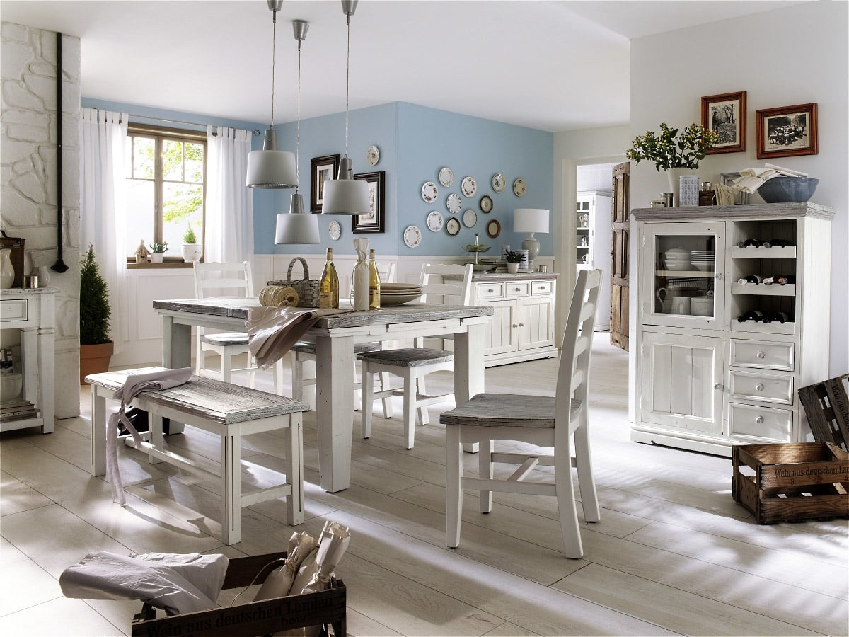 landhausstil esszimmer mobel ~ kreative ideen für ihr zuhause-design, Wohnzimmer dekoo