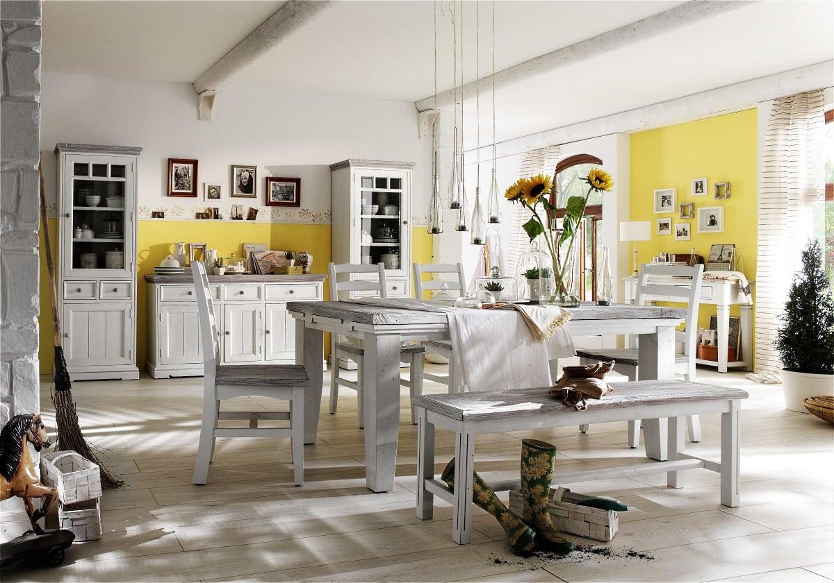 Design#5000931: . Esszimmer Wei Landhaus