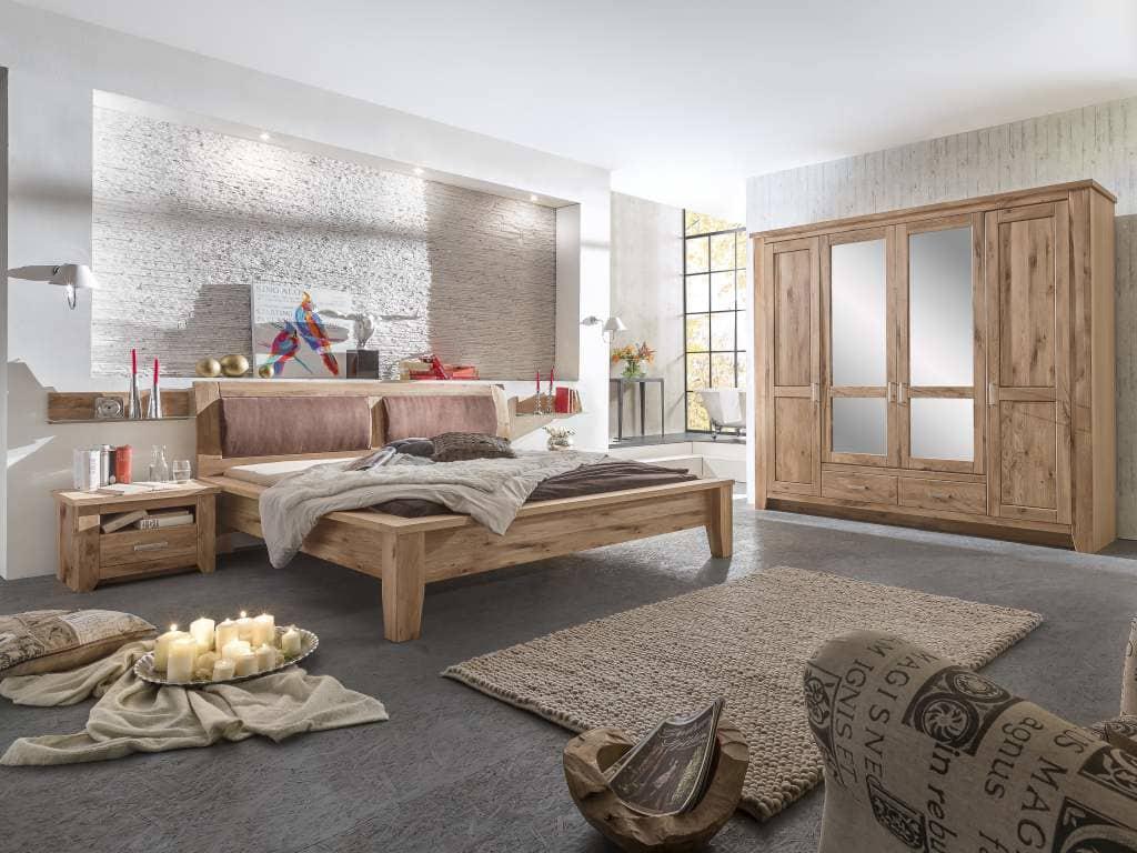 Schlafzimmer Eiche Geolt Toronto Komplett Pickupmobelde