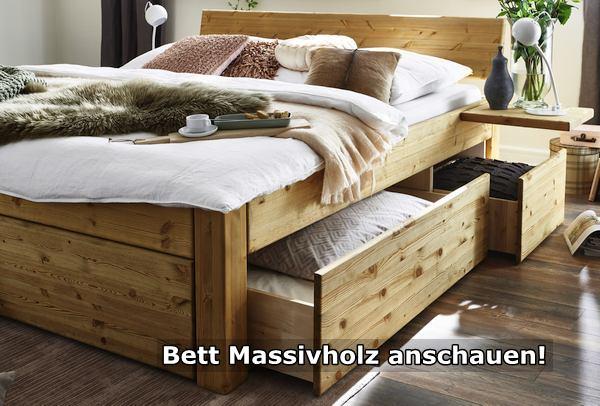 Bett Massivholz anschauen