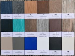 Holzfarben MDF und Holzfurniere Coastalhomes