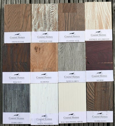 Alle Holzfarben Kastanie massiv