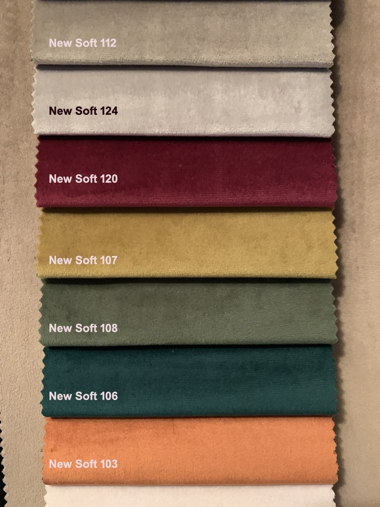 New Soft Velours Stoffmuster 2