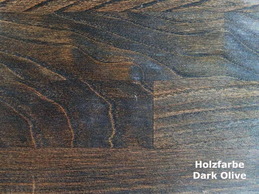 Holzfarbe Dark Olive 2014
