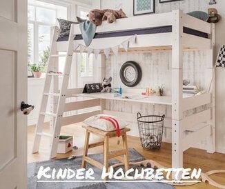 Kinderhochbetten im Kinderzimmer